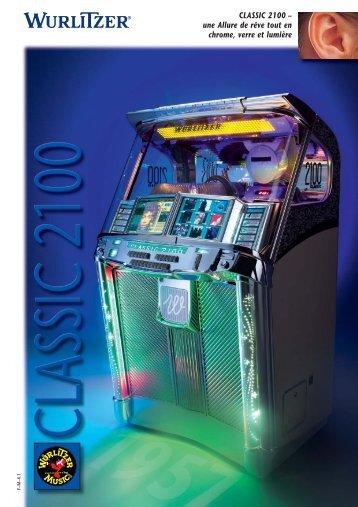 CLASSIC 2100 – une Allure de rêve tout en chrome ... - SFA-Jukebox