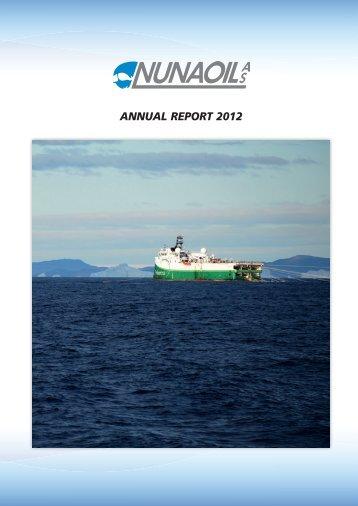 ANNUAL REPORT 2012 - Nunaoil
