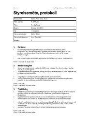 Protokoll, styrelsemöte 30 juni 2010-1 - Huvudskar.org
