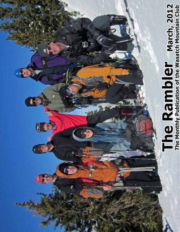 The Rambler - Wasatch Mountain Club