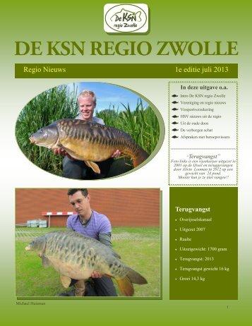 Regio Nieuws 1e editie juli 2013 - Top
