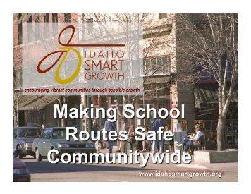 encouraging vibrant communities through sensible growth