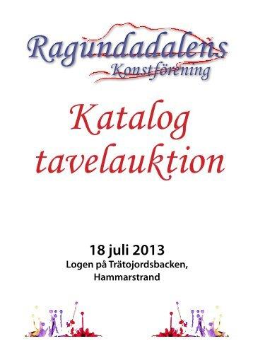 Info om tavla nr 1 - Ragundadalens konstförening
