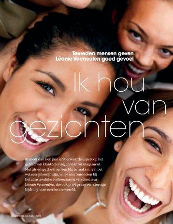 magazine - Voorwaarde - Maakt uw klanten blij!