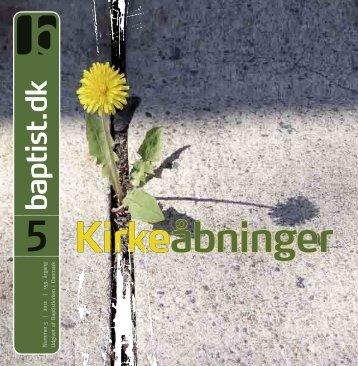 Nr. 5 - 2012 - Baptistkirken i Danmark
