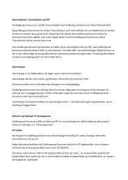 Kommentarer til dokument - Guldborgsund Kommune