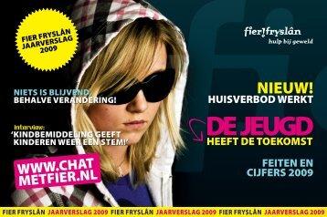 Jaarverslag 2009 Fier Fryslân - Jeugdprostitutie.nu