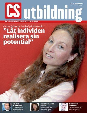 """Låt individen realisera sin potential"""" - IDG.se"""