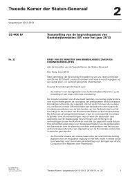 brief regering - Eerste Kamer der Staten-Generaal