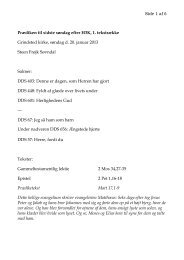 2013-01-20 Sidste søndag efter H3K Grindsted SFS - Grindsted Sogn