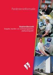 Folder vaatonderzoek (Doppler) - Martini ziekenhuis