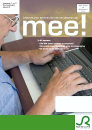 infokrant voor senioren die niet van gisteren zijn In ... - Stad Roeselare