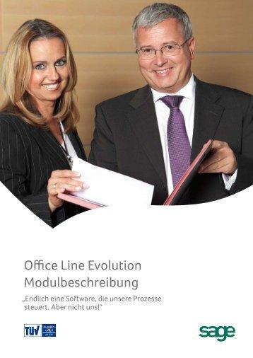 Office Line Evolution Modulbeschreibung (PDF) - Pc-studio