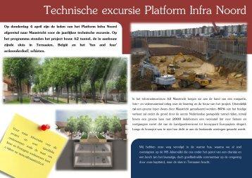 Technische excursie Platform Infra Noord - Bouwend Nederland