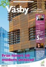 Från förort till modern småstad - Upplands Väsby kommun