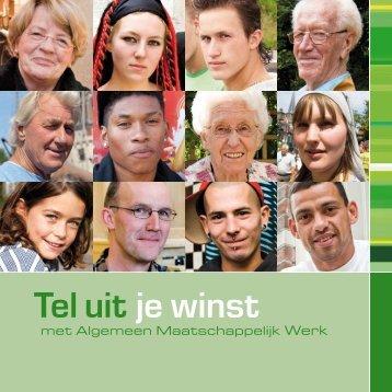 Tel uit je winst - Maatschappelijke Dienstverlening Nieuwe Waterweg