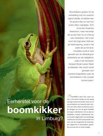 boomkikker - ARK Natuurontwikkeling