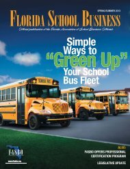 Simple Ways to Green-up Your School Bus Fleet - LBS South, LLC.