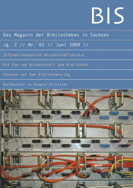 Internets - Das Magazin der Bibliotheken in Sachsen