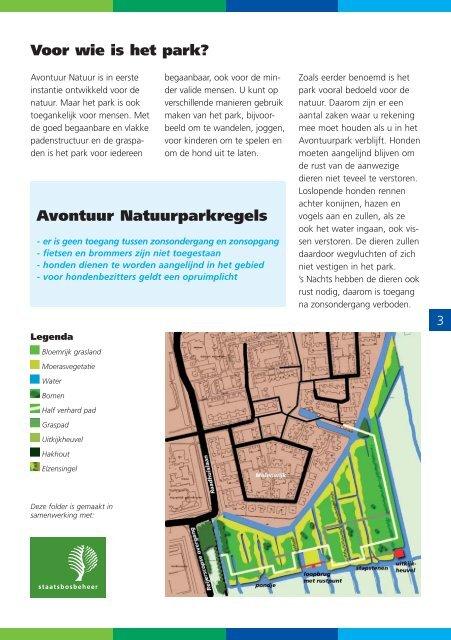 Folder het avontuur natuurpark - Gemeente Woerden