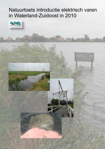 Algemene effecten op de natuur - Landschap Waterland