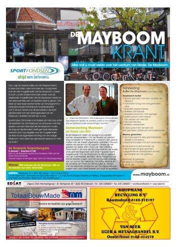 Sociaal Cultureel Centrum De Mayboom - Sportfondsen