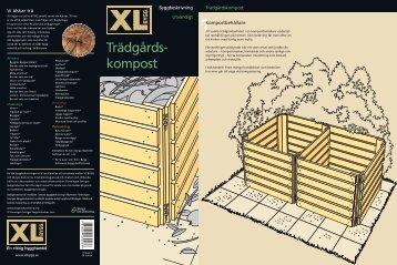 Trädgårds kompost - XL Bygg