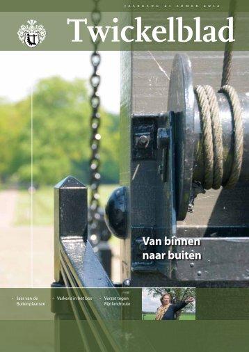 Twickelblad zomer 2012