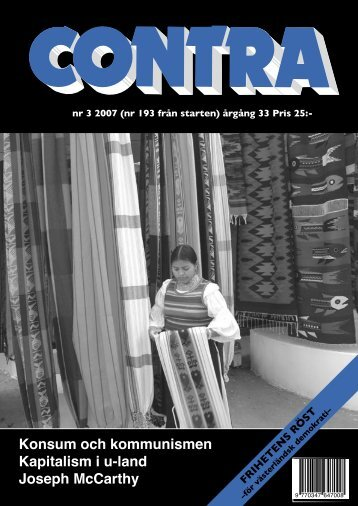 Nummer 3 2007 - Contra