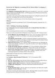 Bericht über die Mitgliederversammlung 2012 - Marine-Offizier ...