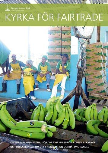 Utbildningsmaterial Kyrka för Fairtrade