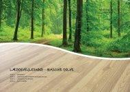 LÆGGEVEJLEDNING - MASSIVE GULVE - Woodwill.dk