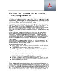 Mitsubishi opent orderboek voor revolutionaire ... - Auto Avenue
