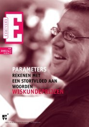 0pm•Euclides 77-7 - Nederlandse Vereniging van Wiskundeleraren