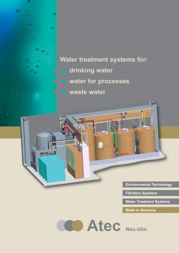Waste water treatment without chemistry Atec Advanced Oxidation ...
