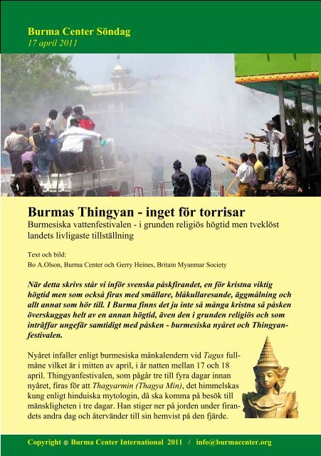 Svensk PDF (320 KB) - Burma Center