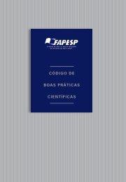 CÓDIGO DE BOAS PRÁTICAS CIENTÍFICAS - Fapesp