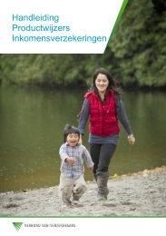 Handleiding Productwijzers Inkomensverzekeringen (Verbond 2013)