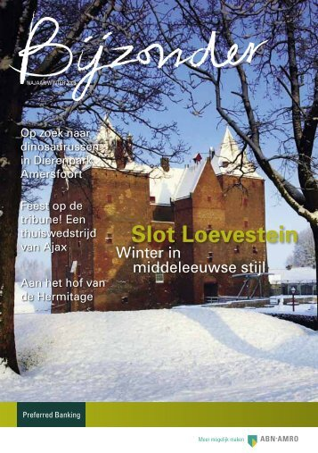 Brochure Bijzonder, NAJAAR/winter 2009