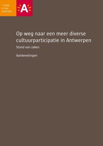 Op weg naar een meer diverse cultuurparticipatie in ... - Demos