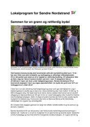Lokalprogram for Søndre Nordstrand SV 2011-2015.pdf