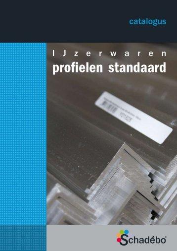 Profielen standaard - catalogus deel 1 - Schadebo