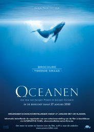 Brochure NL Oceans - Lerarenkaart