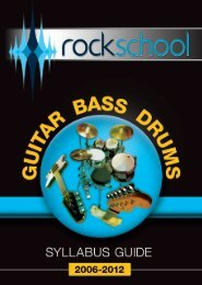 Guitar Bass and Drums