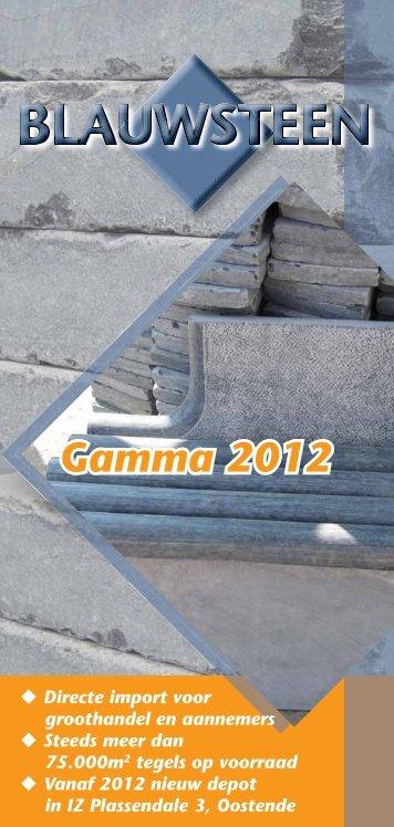 Gamma 2012 - Vandix Bvba