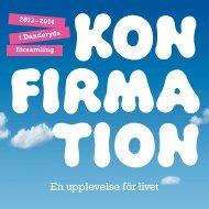 Konfirmation 2013-2014 - Danderyds Församling