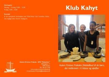 Klub Kahyt - Aulum Kristne Friskole
