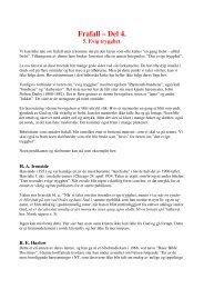 Frafall – Del 4. 5. Evig trygghet - Lyd i Natten