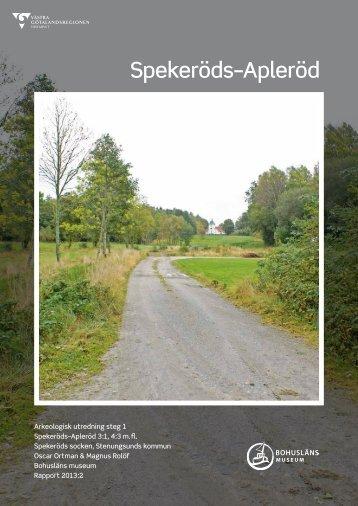 Arkeologisk utredning etapp 1.pdf - Stenungsund
