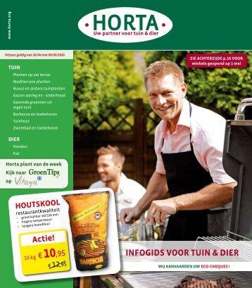 INFOGIDS VOOR TUIN & DIER - Tuincentrum Welters-Verelst